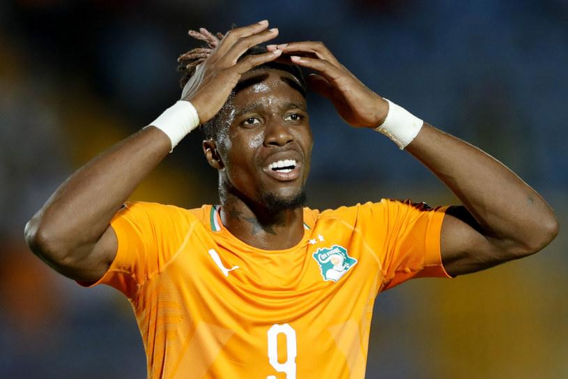 Wilfried Zaha podczas meczu reprezentacji /FADEL SENNA /AFP