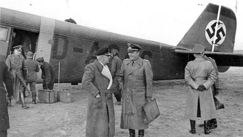 Wilhelm Canaris i Franz Eccard von Bentivegni /materiały prasowe