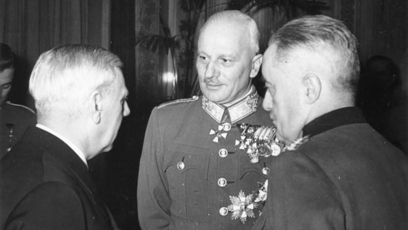 Wilhelm Canaris, Vitez Bartha i Edmund Glaise-Horstenau /materiały prasowe