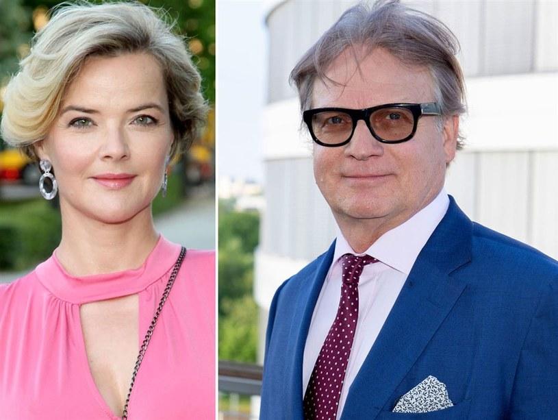 Will Richardson i Monika Zamachowska byli kiedyś małżeństwem /Agencja W. Impact