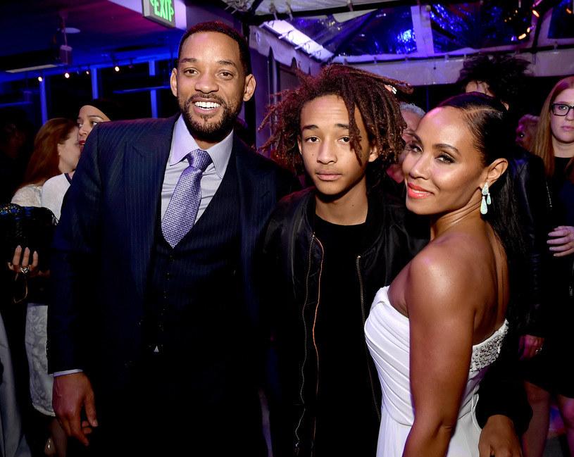Will Smith, Jaden Smith i Jada Pinkett Smith, czyli rodzina w komplecie. /Kevin Winter /Getty Images