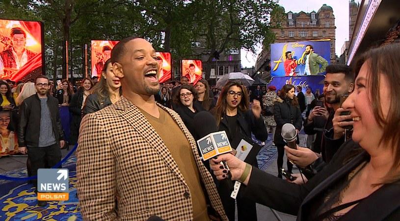 Will Smith w rozmowie z Agnieszką Laskowską /materiały promocyjne