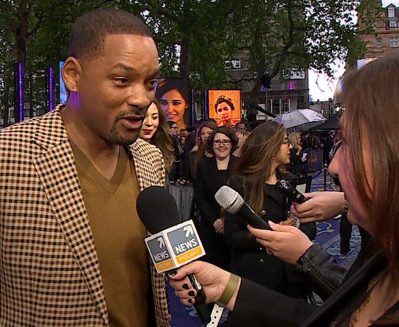 Will Smith w trakcie wywiadu /materiały promocyjne