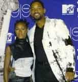 Will Smith z żoną /