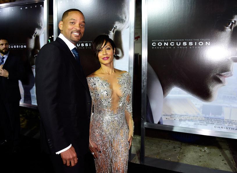 Will Smith z żoną /Frazer Harisson /Getty Images