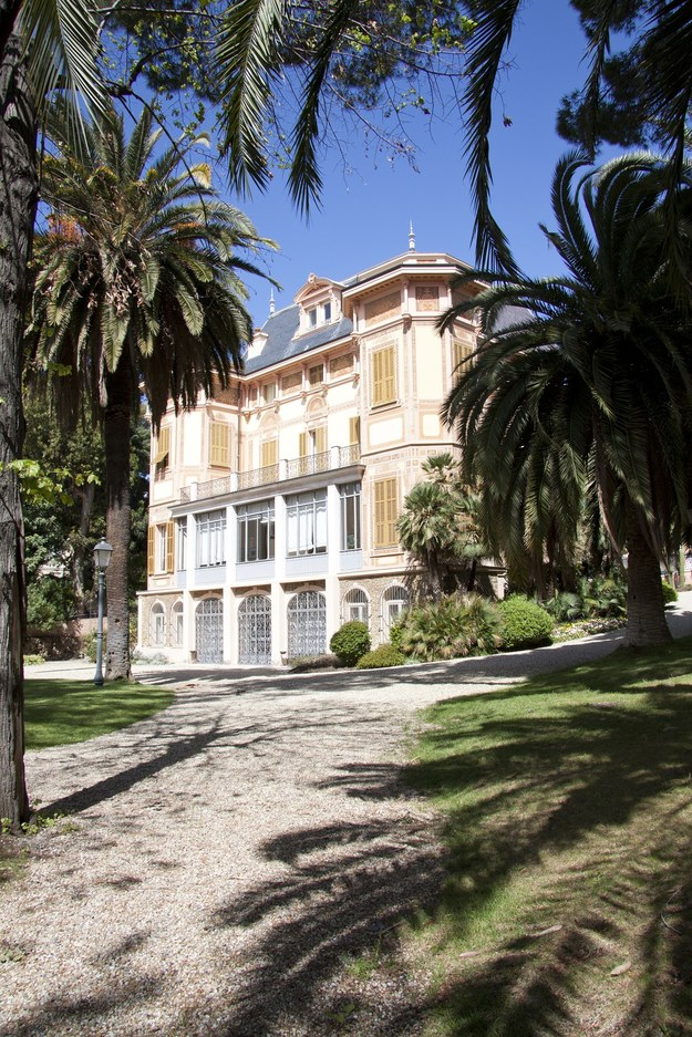 Willa Alfreda Nobla w San Remo /foto. pixabay /