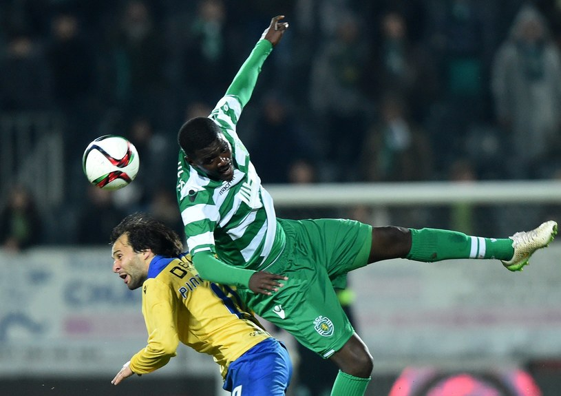 William Carvalho (w zielonym stroju) /AFP
