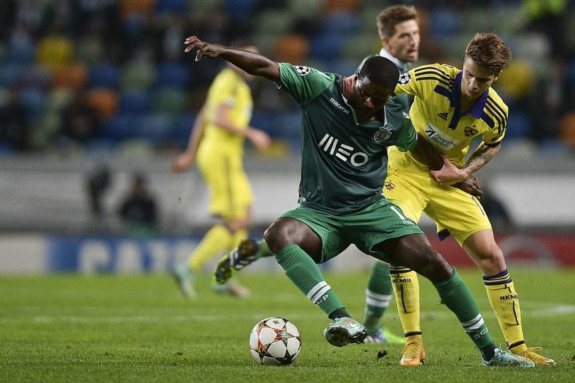 William Carvalho (zielony strój) /AFP