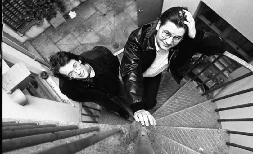 William Gibson i Bruce Sterling - jedni z najbardziej zasłużonych dla gatunku autorów / Martyn Goodacre / Contributor /Getty Images