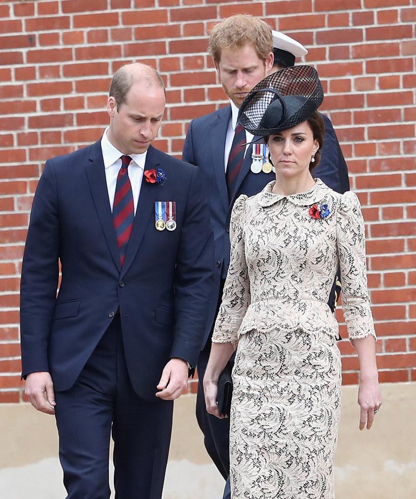 William i Harry są skłóceni od dłuższego czasu /Pool /Getty Images