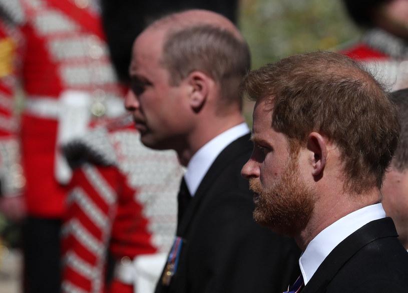 William i Harry /Gareth Fuller / AFP / POOL /AFP