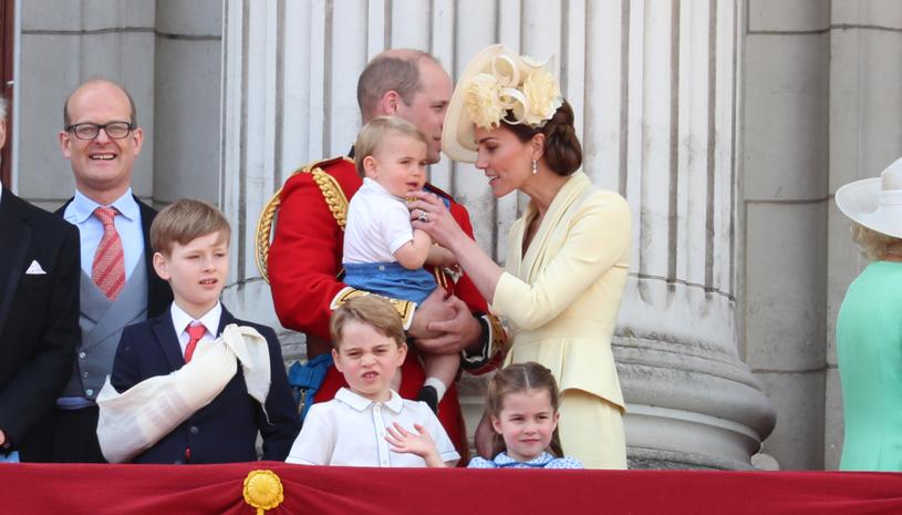 William i Kate z dziećmi /Neil Mockford /Getty Images