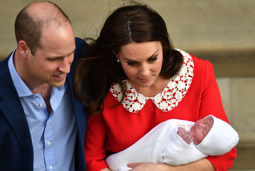 William i Kate z potomkiem /Gareth Cattermole /Getty Images