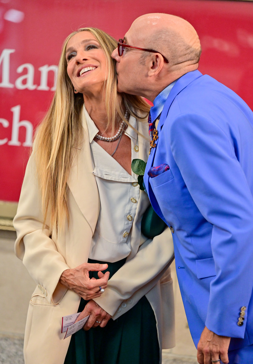 Willie Garson i Sarah Jessica Parker /Getty Images