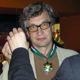 Wim Wenders z medalem, fot. INTERIA.PL /INTERIA.PL