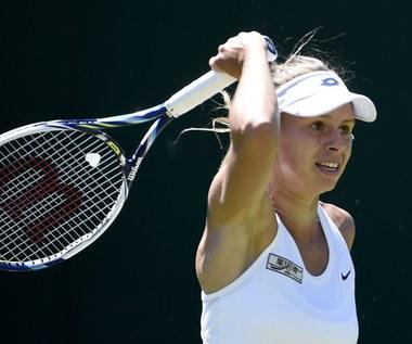 Wimbledon 2015. Magda Linette przegrała z Narą i kontuzją