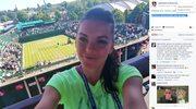 Wimbledon. Agnieszka Radwańska wspierała Jerzego Janowicza