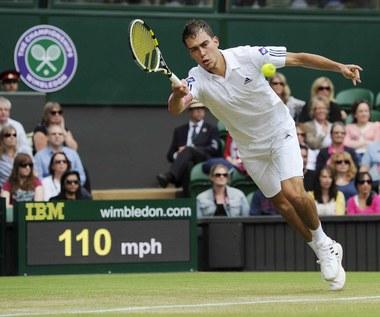 Wimbledon: Jerzy Janowicz - Nicolas Almagro 7:6 (6), 6:3, 6:4