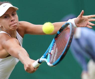 Wimbledon: Magda Linette przegrała z Petrą Kvitovą