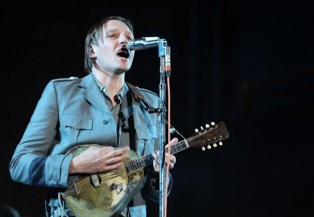 Win Butler i jego Arcade Fire nagrali jeden z najciekawszych albumów 2010 roku fot. Simone Joyner /Getty Images/Flash Press Media