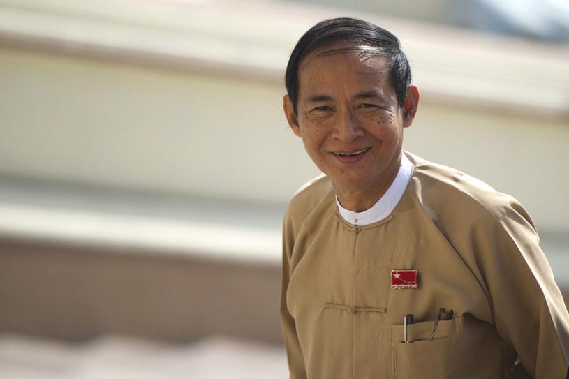 Win Myint /AFP