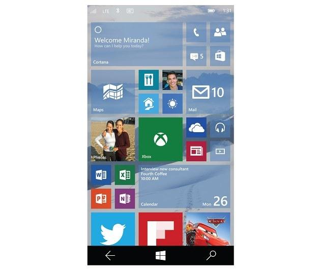 Windows 10 w wersji mobilnej /materiały prasowe