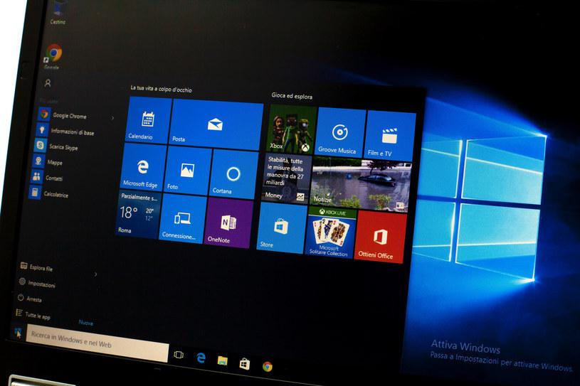 Windows 10 z problemem, który nie pozwalał na reset komputera /123RF/PICSEL