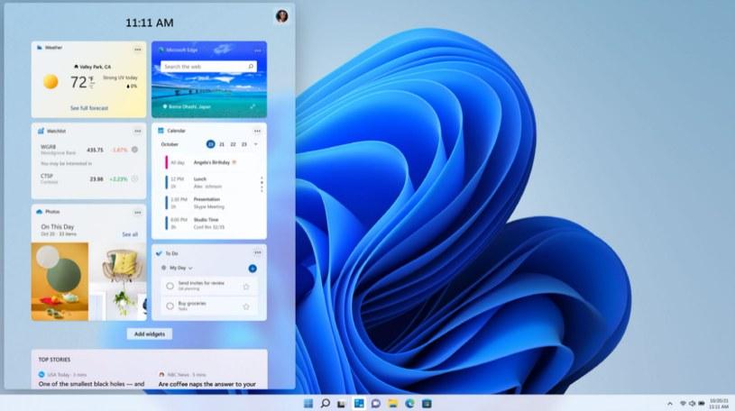 Windows 11 Fot. Microsoft /materiały prasowe