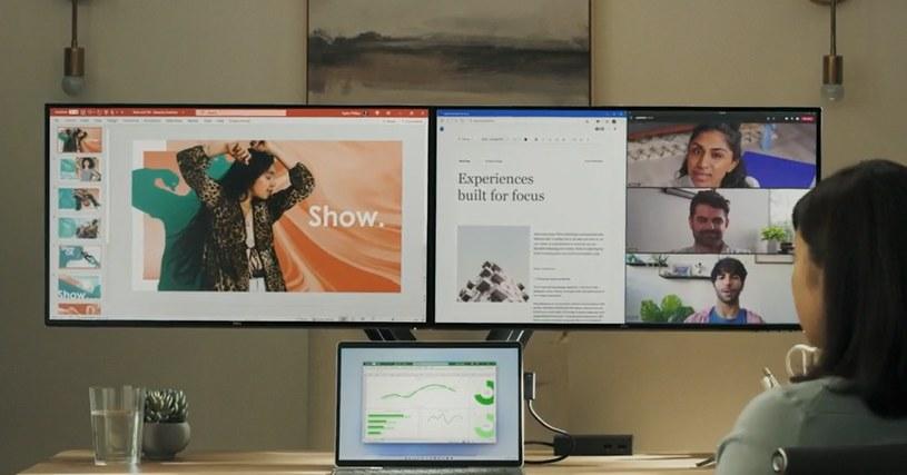 Windows 11 ma ulepszoną funkcję obsługi wielu ekranów /materiały prasowe