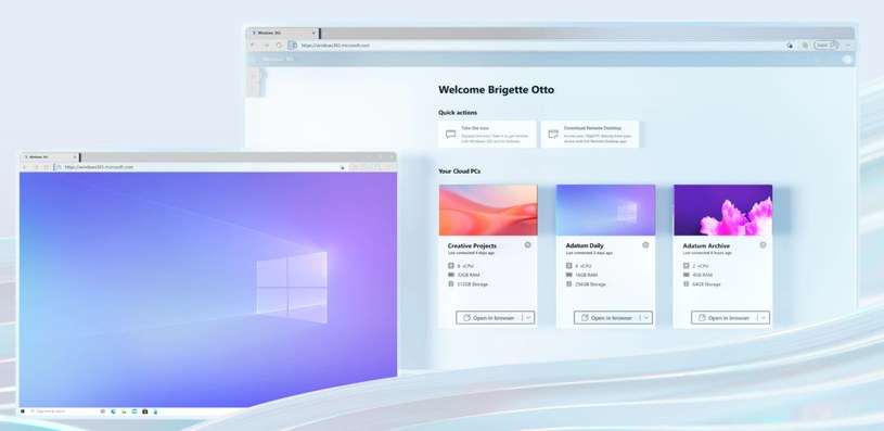 Windows 365 /materiały prasowe