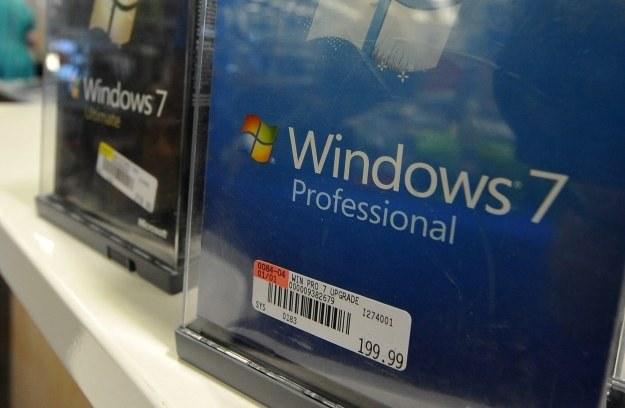 Windows 7 szybko stał się najpopularniejszym systemem w historii Microsoftu /AFP