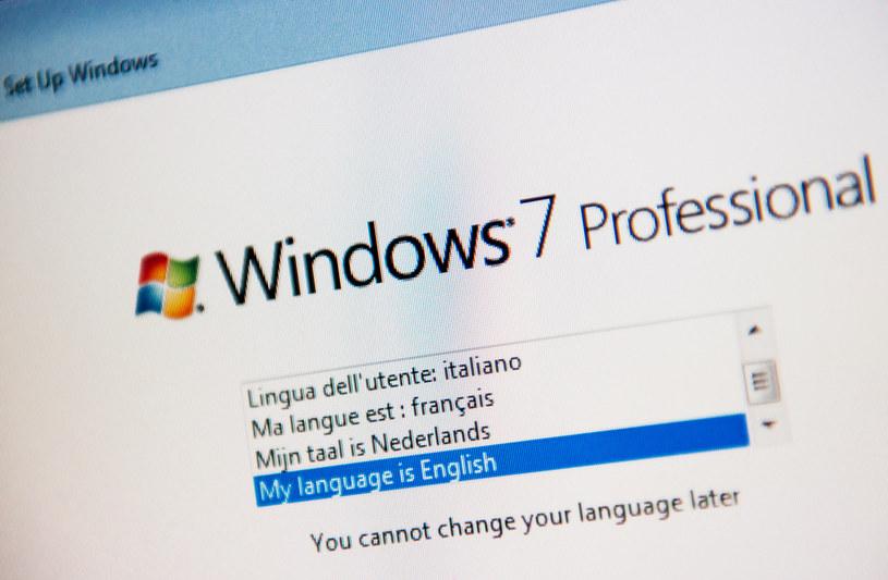 Windows 7 to wciąż bardzo popularny system /123RF/PICSEL