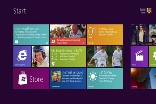 Windows 8 dla tabletów przypomina Windows Phone 7 - zapowiada się interesująco /tabletowo.pl