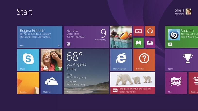 Windows 8, jest już dostępny na całym świecie /materiały prasowe