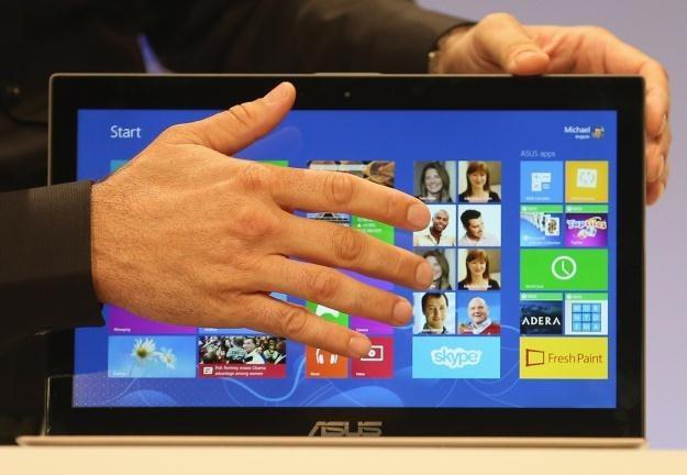 Windows 8 ma być wielkim sukcesem Microsoftu - czas pokaże, czy tak będzie /AFP