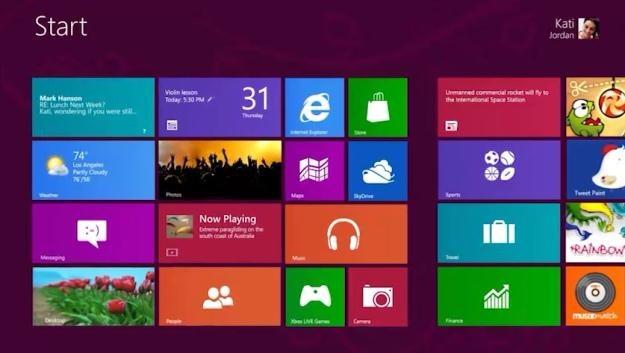 Windows 8 - premiera już w piątek /materiały prasowe