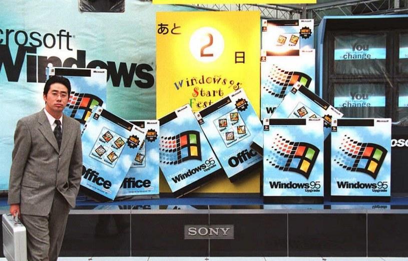 Windows 95 był wielkim hitem - jego sukces był w pełni zasłużony /AFP