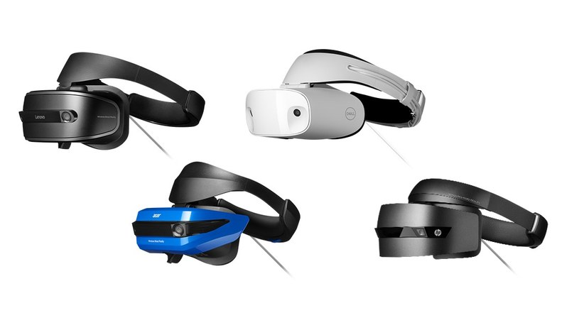 Windows Mixed Reality Headsets /materiały promocyjne