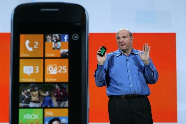 Windows Phone 8 powoli zyskuje na popularności /AFP