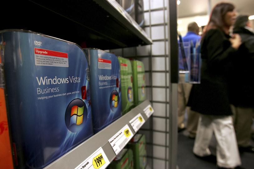 Windows Vista - na sklepowych półkach zadebiutował 10 lat temu /AFP