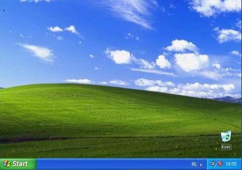 Windows XP - absolutnie legendarny pulpit /materiały prasowe