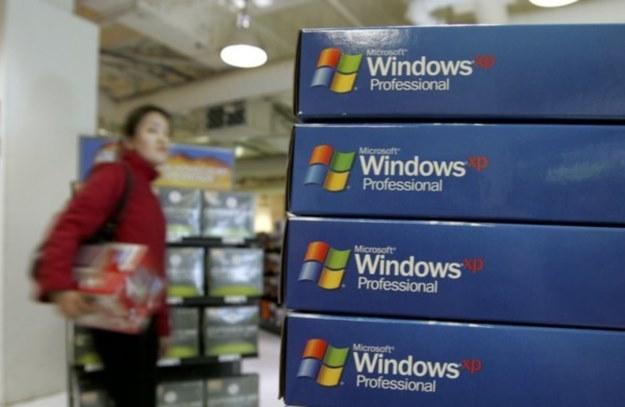Windows XP - nie brakuje osób, które nadal korzystają z tego systemu /AFP