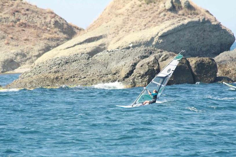 Windsurfing w Bułgarii /materiały prasowe