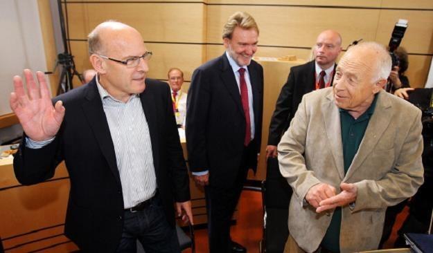Winfried Hermann, minister transportu Badenii-Wirtembergii (L). Fot. Thomas Niedermueller /Getty Images/Flash Press Media