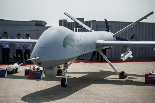Wing Loong trudno odróżnić od Reapera /AFP