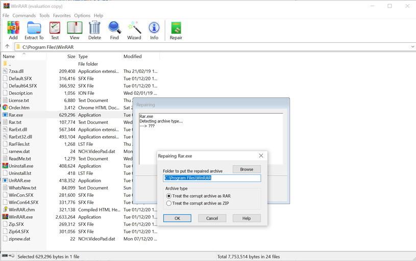 WinRAR 6.0 /materiały prasowe