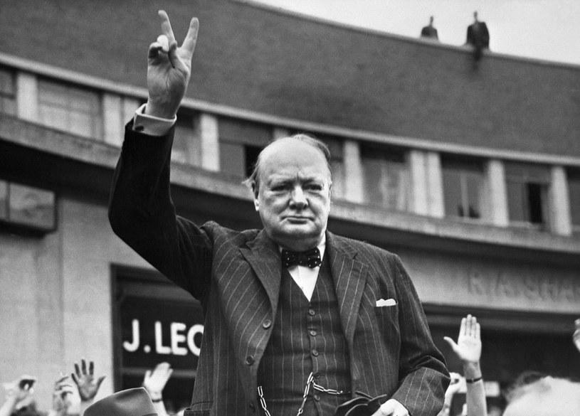 Winston Churchill myślał nie tylko jak polityk, ale także jak naukowiec /AFP