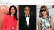 Wintour pojawi się na ślubie George'a Clooney'a