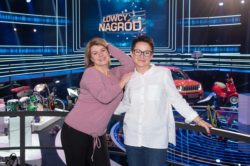Wioletta i Magda walczyły o nagrody w 9. odcinku teleturnieju /Super Polsat