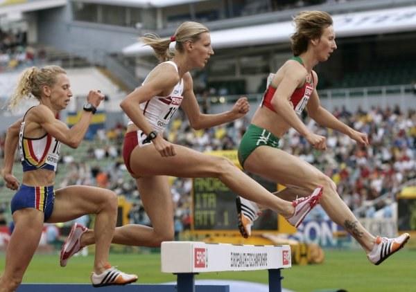 Wioletta Janowska awansowała do finału na 3000 m z przeszkodami /AFP